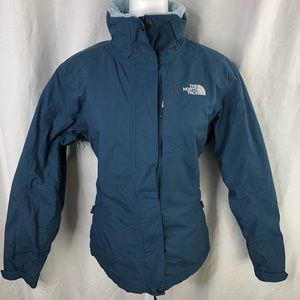 The North Face Womens Blue L Hyvent lined Jacket